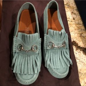 Gucci fringe loafers